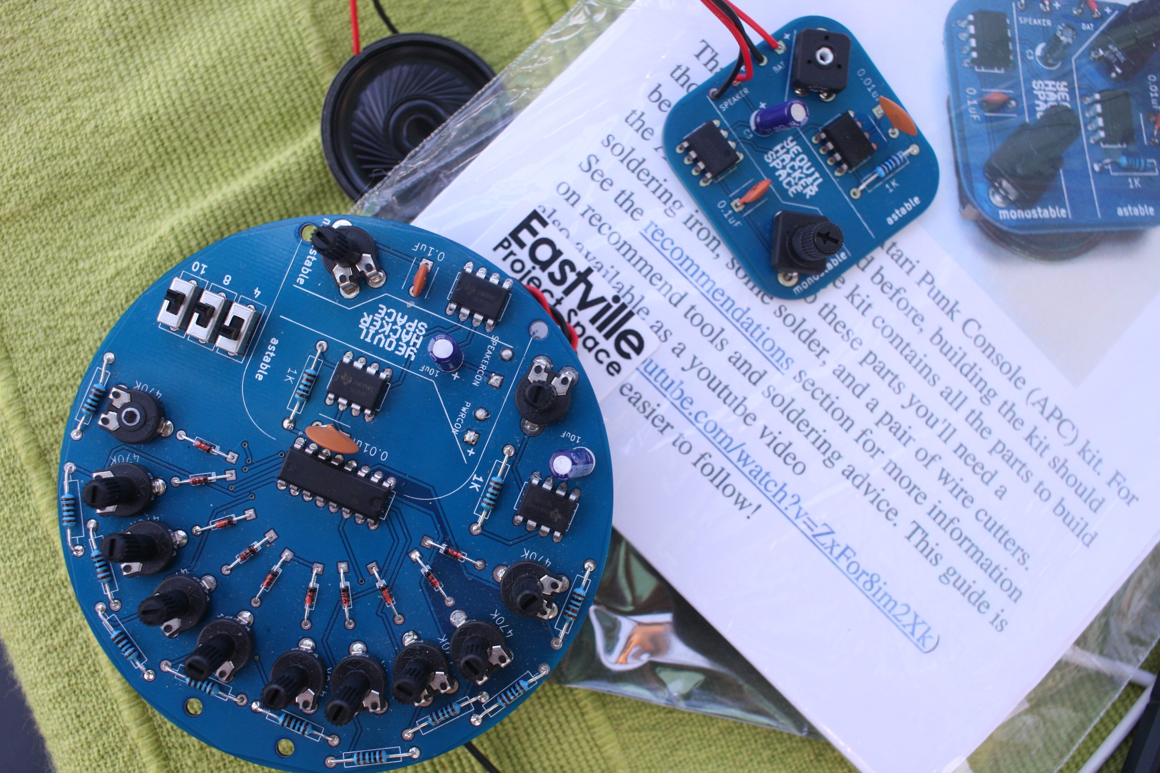 Yeovil Hacker Space Learn To Build The Atari Punk Console Electronic Circuits Synth Building Workshop And Display At Art Week Exeter